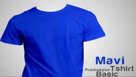 Mavi Promosyon Tişört