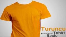 Promosyon Tişört Turuncu