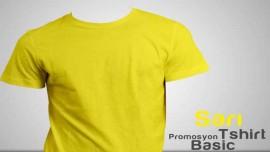 Sarı Promosyon Tişört