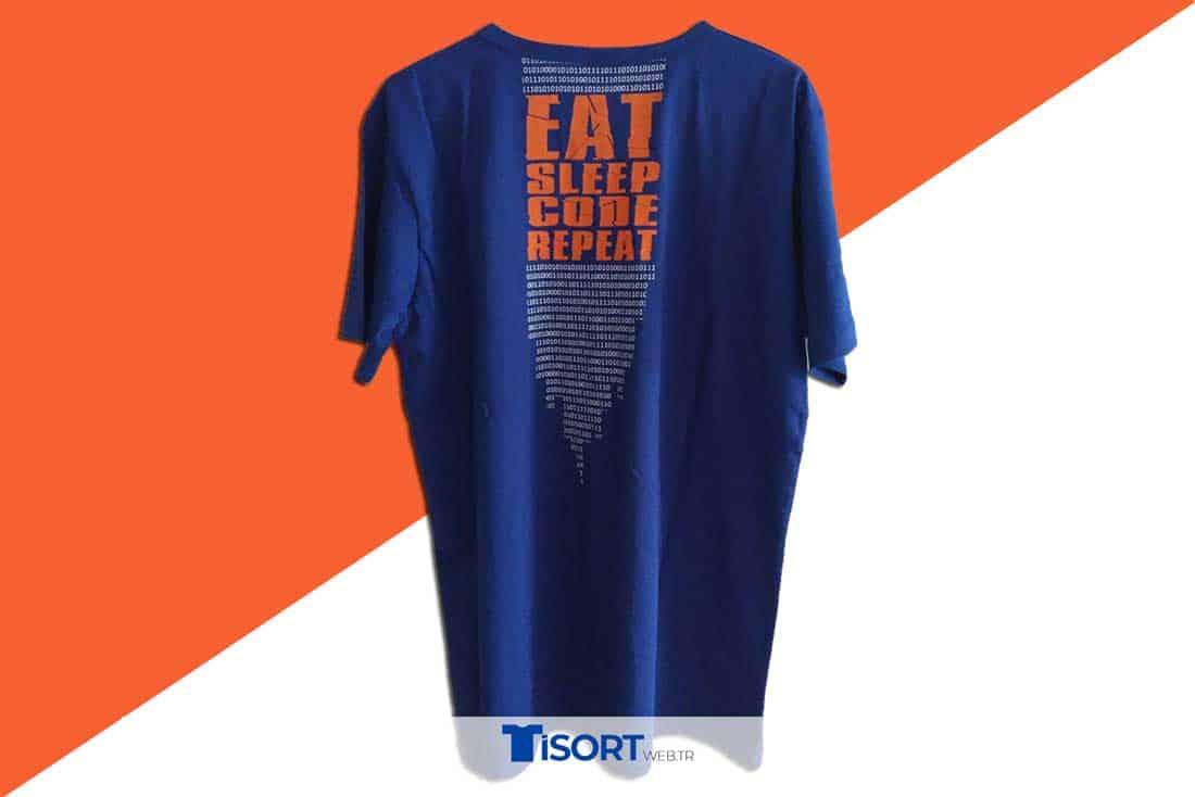Tişört Emprime Baskı