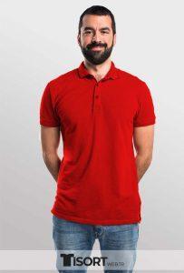 Polo Yaka Tişört Kırmızı Fiyatları