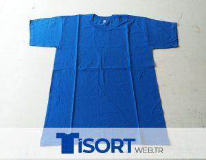 Saks Mavi Tİşört