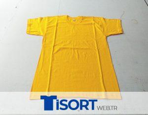 Sarı Renk Tişört
