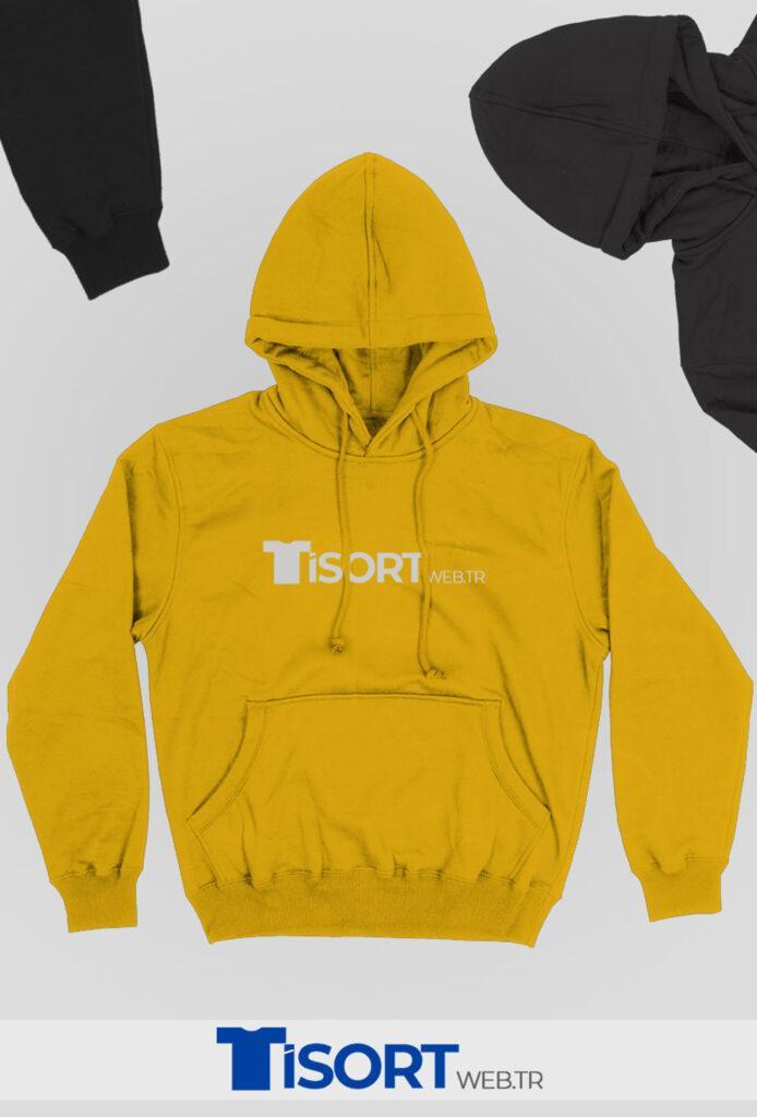 Toptan Sweatshirt Sarı