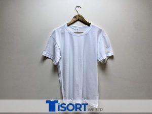 Ucuz Beyaz Tişört