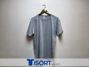Ucuz Gri Tişört