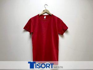 Ucuz Kırmızı Tişört