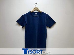 Ucuz Lacivert Tişört