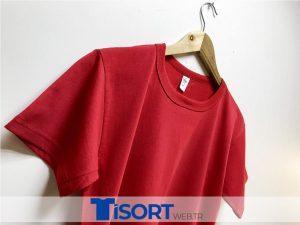 Ucuz Kırmızı Toptan Tişört