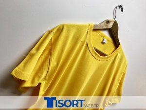 Ucuz Toptan Tişört Sarı