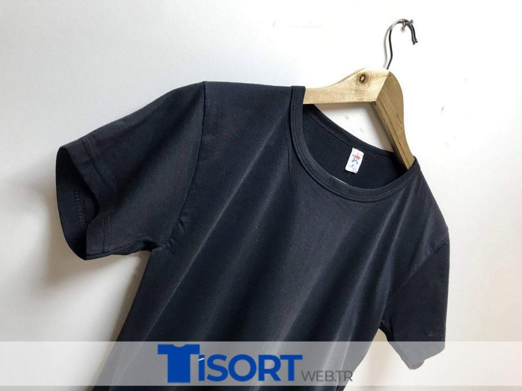 Toptan Tişört Siyah